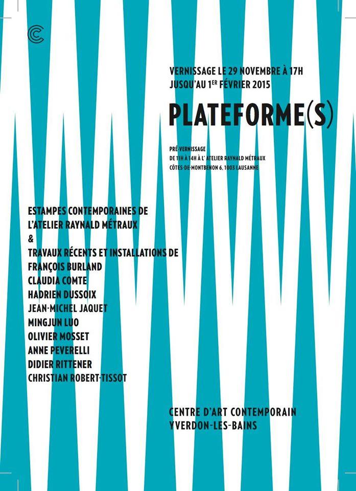 Plateforme(s)/Centred'ArtContemporaind'Yverdon-Les-Bains